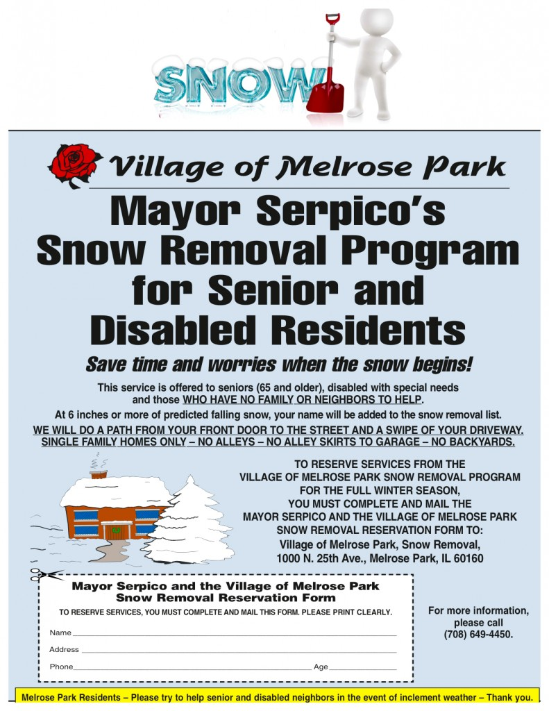 Senior Snow Remova; Program (1)