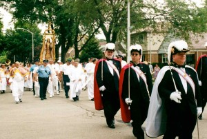 Feast of Our Lady of Mt Carmel procession copy